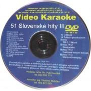 Video Karaoke Slovenské hity III