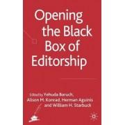 Opening the Black Box of Editorship by Yehuda Baruch