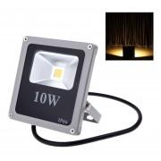 10W 110-250V Foco LED Ultrafino IP66 Resistente Al Agua Para Exterior Luz Blanca Cálida