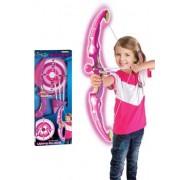 Játék szett G21 Világító íj céltáblával rózsaszín
