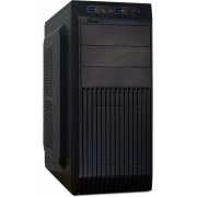 Inter-Tech CM-35 Midi-Toren 500W Zwart computerbehuizing