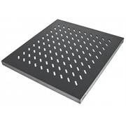 """Intellinet 19"""" Fixed Shelf - 1U, 525 mm Depth,"""