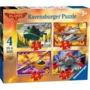 PUZZLE DISNEY PLANES 2 4 BUC IN CUTIE 12162024 PIESE Ravensburger