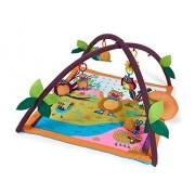 Oops BC-14001.00/IT Multi-Attività e Baby Sensory Gioca Palestra con l'Ammortizzatore Capo a Woodland Meraviglie, Multicolore, 4+ Mesi