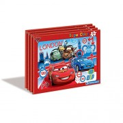 CLEMENTONI Puzzle Cuadro Cars Disney 15pz surtido