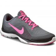 Cipők NIKE - Wmns Nike Flex Trainer 6 831217 003 Cl Gry/Pnk Blst/Dry Gry/Anthrc