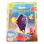 Disney Finding Nemo Sticker Book Treasury ~ 6 Books in 1 with Over 350 Stickers (Including Bonus Sparkle Stickers; 2014)