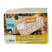 Crackers bio din secara cu susan