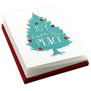 My Inner Florist 5538 Christmas Wishes 6 Handcrafted Holiday Cards and Envelopes