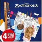 Disney Zootropolis - Lumea magica a culorilor 4 Megaplanse