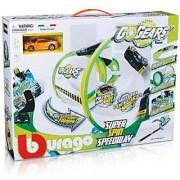 Bburago Go Gears Super Spin Speedway Playset (Multicolor)