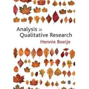 Analysis in Qualitative Research by Hennie Boeije