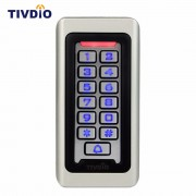 TIVDIO Keypad RFID Access Control System Proximity Card Standalone 2000 Users Door Access Control Waterproof Metal Case F9501D