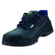 Sicherheits- und Arbeitshalbschuh S3, Farbe schwarz/blau, Gr. 41