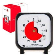 Time Timer Tischuhr mit akustischem Signal, klein, 7,5x7,5 cm