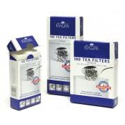 Papírové filtry na čaj, velikost L - 40 ks