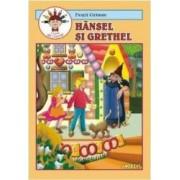 Hansel si Grethel - Fratii Grimm - Carte de colorat