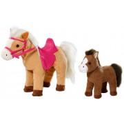 ZAPF CREATION interactief pluche paard & veulen »BABY born® Pony Farm Interactieve Sunny met veulen«