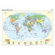Harta politică a lumii 140x100 cm