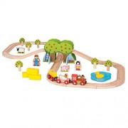 Bigjigs Toys Rail Farm Train Set