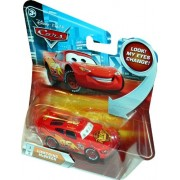 """Mattel Disney Pixar """"The World Of Cars"""" Series 1:55 Scale Die Cast Car Set #P7122 - Piston Cup #95 Lightning Mcqueen With """"Changing Eyes"""" Feature"""