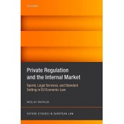 Private Regulation and the Internal Market: Sports, Legal Services, and Standard Setting in Eu Economic Law