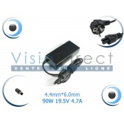 Adaptateur Alimentation Chargeur pour Portable SONY VAIO VGN-SZ25 Visiodirect