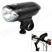 1 * Krypton Yellow Light + 2-LED blanco frente de la bicicleta Luz - Negro