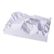 Kamikochi Kasumizawadake (finished product) 1/50 000 scale precision model mountain mountains north Alps Series No.01 (japan import) by Aoshima