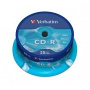 Verbatim CD-R 52x 700 Mb ExtraProtection (43432), set 25 bucati