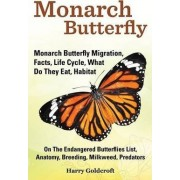 Monarch Butterfly, Monarch Butterfly Migration, Facts, Life Cycle, What Do They Eat, Habitat, Anatomy, Breeding, Milkweed, Predators by Harry Goldcroft