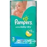 Scutece Pampers Active Baby 3 Value Pack 58 buc