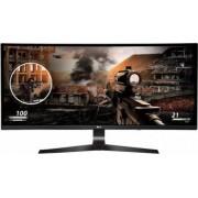 Monitor LED Gaming 34 LG 34UC79G-B Curbat 2K UW-UXGA IPS 5ms 144Hz