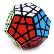 Clasico Megaminx cubo magico IQ Puzzle Toy - multicolor