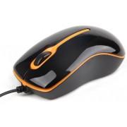 Mouse Gembird MUS-U-004-O (Negru/Portocaliu)