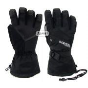 Rękawice zimowe, snowboardowe, damskie, z membraną Therm Plus MATRIX W BLACK