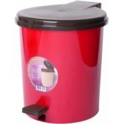 Cos gunoi cu pedala 10 litri rosu