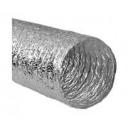 "Tubulatura flexibila neizolata 6"" aluminiu"