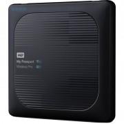 Hard disk extern WD My Passport Wireless Pro 2TB USB 3.0 Black
