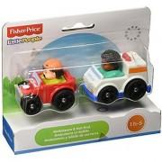 Little People Wheelies 2-Pack - Ambulance/Hot Rod