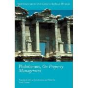 Philodemus, On Property Management by Voula Tsouna