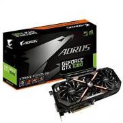 Gigabyte GV-N1080AORUS X-8GD Carte graphique Nvidia Geforce GTX1080 8 Go PCI Express