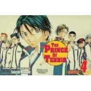 The Prince of Tennis: v. 4 by Takeshi Konomi
