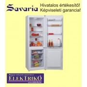 Savaria GN312M hűtőszekrény alulfagyasztós,szürke színű