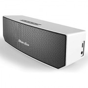 Bluedio BS-3 (Camel) Portable Bluetooth Wireless Stereo Speaker with Mic for Calls White