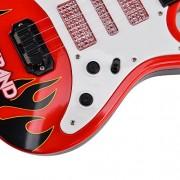 Electric Guitar Toy, Yamix 4 Strings Rock Band Music Electric Guitar Band Musical Guitar Playthings Rock Star...