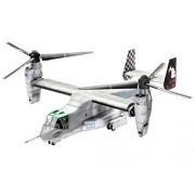 Revell 03964 - Modellino di Convertiplano medio militare Bell V-22 Osprey, da costruire, scala 1:72