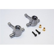 HPI Crawler King Upgrade Parts Aluminium Front/Rear Knuckle Arm - 1Pr Set Gray Silver