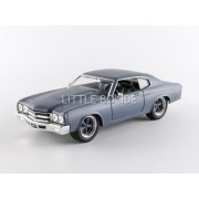 Jada Toys - 1/24 - Chevrolet - Doms Chevelle Ss - Fast And Furious - 97835s-Jada Toys