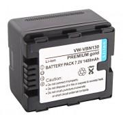 Akumulator VW-VBN130 z chipem 1400mAh (Panasonic)